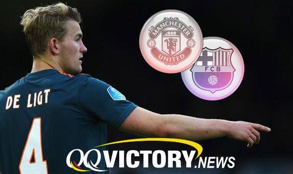 Man Utd Barcelona De Ligt 1132134 - De Ligt Berlabuh ke Manchester United ?