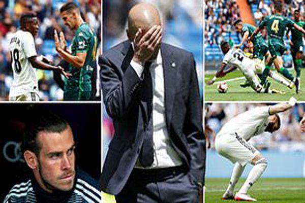 Untitled 1 6 - Zidane : Walau Ada Empat Pergantian Pemain, Saya Takkan Mainkan Bale