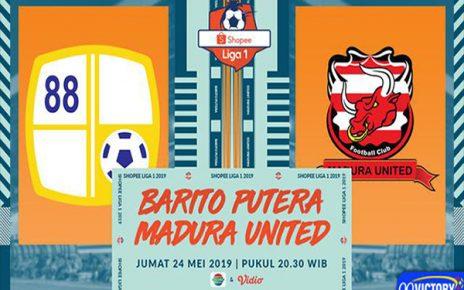 barito 464x290 - Prediksi Pertandingan Barito Putera vs Madura United 24 Mei 2019