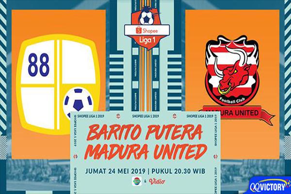 barito - Prediksi Pertandingan Barito Putera vs Madura United 24 Mei 2019