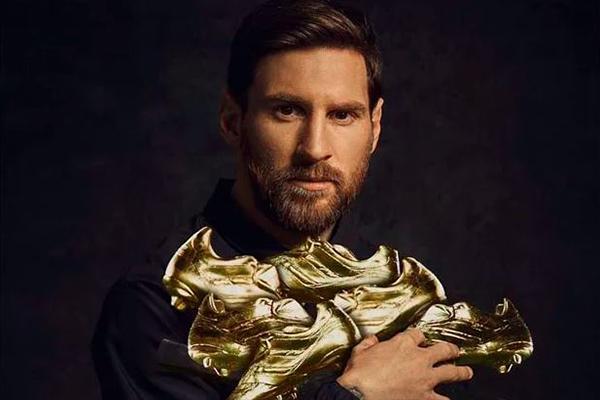 wp 1 4 - Gelar Sepatu Emas Eropa ke 6 Lionel Messi