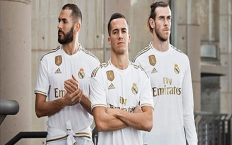 Untitled 1 16 464x290 - Classic Gold! Inilah Penampakan Seragam Kandang Real Madrid 2018/2019