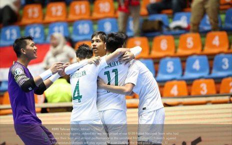 Untitled 1 50 464x290 - Jadwal Piala Asia Futsal U-20 2019, Jepang ke Final, Indonesia Jumpa Juara Bertahan