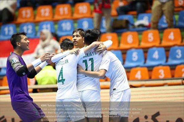 Untitled 1 50 - Jadwal Piala Asia Futsal U-20 2019, Jepang ke Final, Indonesia Jumpa Juara Bertahan