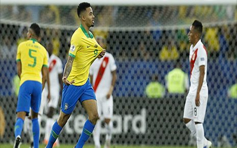 Untitled 1 9 464x290 - Hasil Pertandingan Brasil vs Peru: Skor 3-1