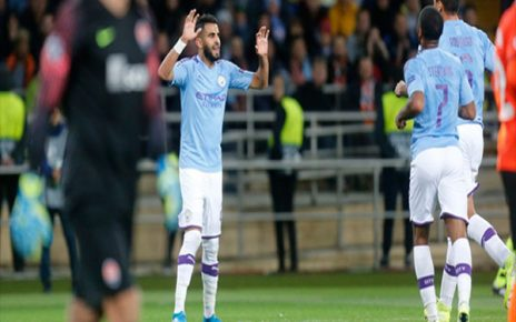 City 464x290 - Man of the Match Shakhtar Donetsk vs Manchester City: Riyad Mahrez