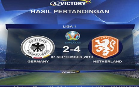 German Vs Belanda 464x290 - Hasil Pertandingan Jerman vs Belanda: Skor 2-4