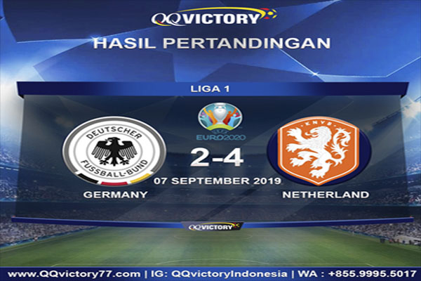 German Vs Belanda - Hasil Pertandingan Jerman vs Belanda: Skor 2-4