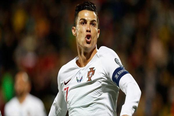 Portugal - Cetak Empat Gol, Cristiano Ronaldo Kembali Bukukan Rekor Baru