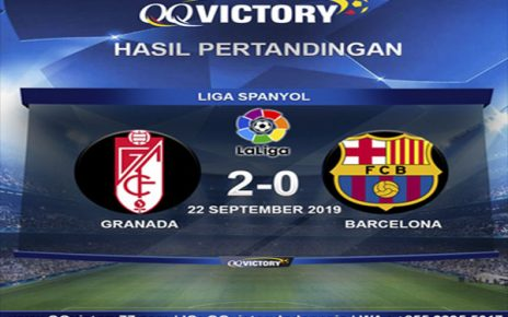 Untitled 1 11 464x290 - Hasil Pertandingan Granada vs Barcelona: Skor 2-0