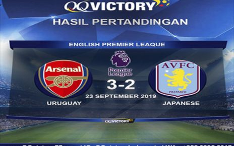 Untitled 1 13 464x290 - Hasil Pertandingan Arsenal vs Aston Villa: Skor 3-2