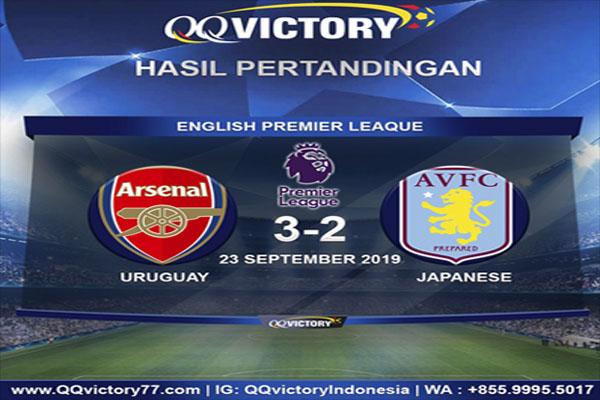 Untitled 1 13 - Hasil Pertandingan Arsenal vs Aston Villa: Skor 3-2