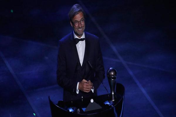 Untitled 1 17 - Akhirnya Jurgen Klopp Raih Penghargaan Pelatih Terbaik FIFA 2019