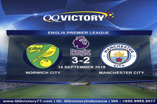 Untitled 1 2 - Cuplikan Pertandingan Norwich Vs Manchester City 3-2 All Goal