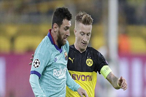 Untitled 1 4 - Hasil Pertandingan Borussia Dortmund vs Barcelona: Skor 0-0