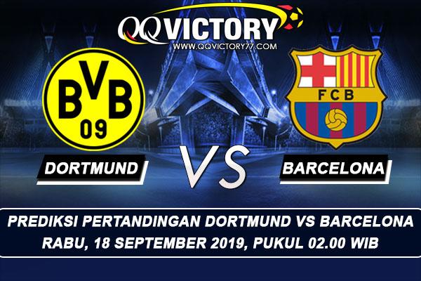 tebak skor liga 1 - Prediksi Borussia Dortmund vs Barcelona 18 September 2019