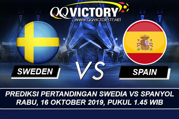 tebak skor liga 1 - Prediksi Pertandingan Swedia vs Spanyol 16 Oktober 2019