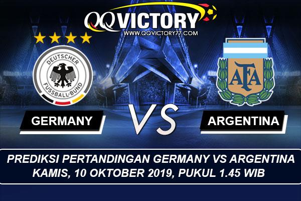 tebak skor liga - Prediksi Pertandingan Jerman vs Argentina 10 Oktober 2019