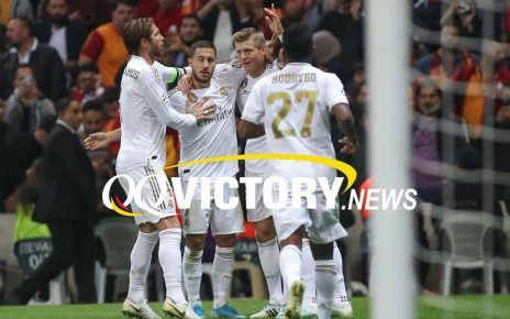 madrid 464x290 - Hasil Akhir Pertandingan Real Madrid vs Galatasaray: Skor 6-0