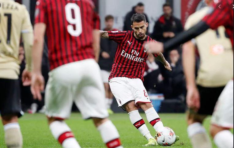 suso - Hasil Pertandingan AC Milan vs SPAL: Skor 1-0
