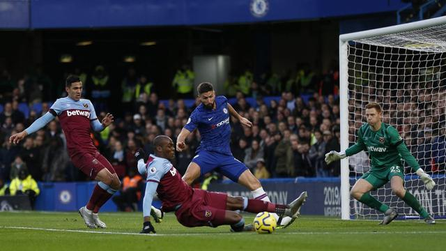 047338100 1575129551 Chelsea v West Ham United   AFP Ian Kington - West Ham permalukan Chelsea di Stamford Bridge