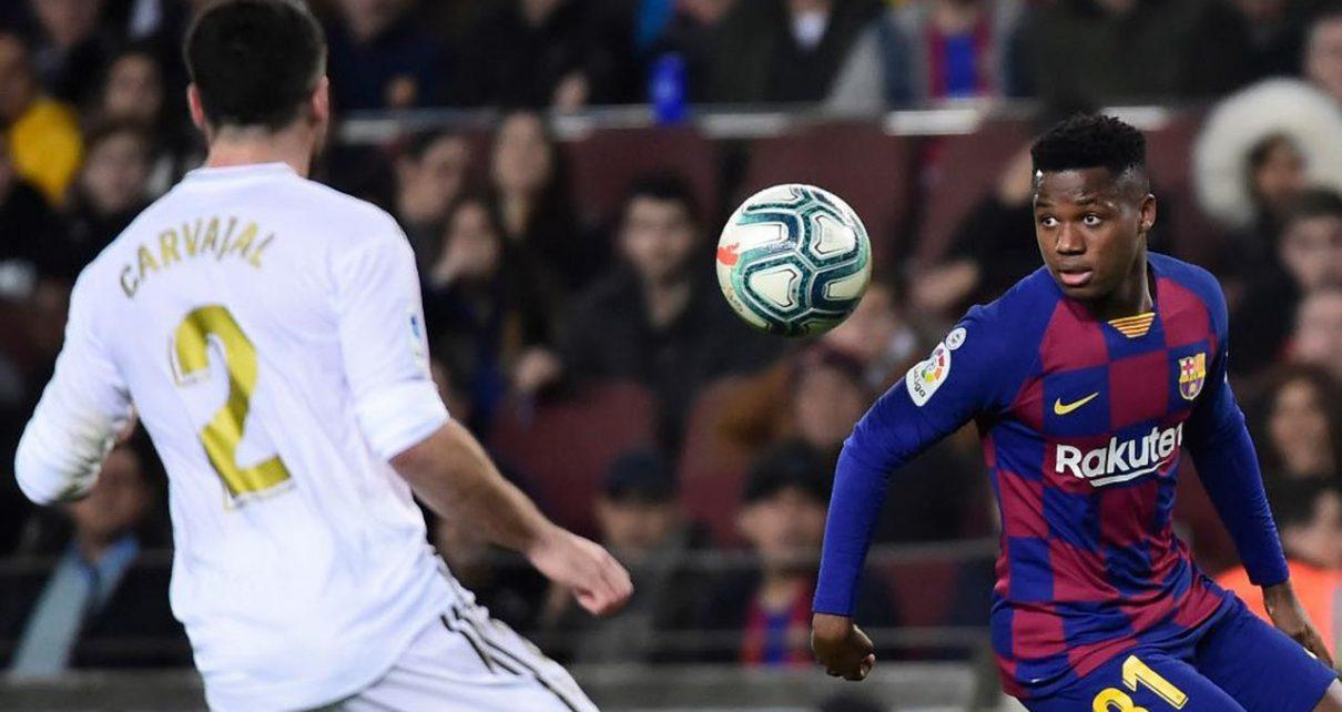 1 6 1210x642 - Barcelona Vs Real Madrid: Ansu Fati dan Sergio Ramos Ukir Rekor di El Clasico