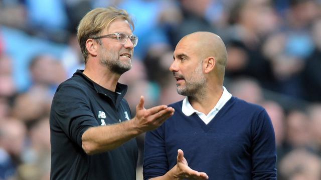 1 9 - Pep Guardiola: Manchester City Bisa Mengejar Liverpool? Tidak Realistis!